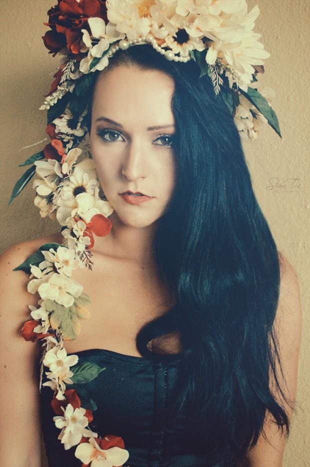 Hawaii Vintage Style Photo by Model Shaun Tia