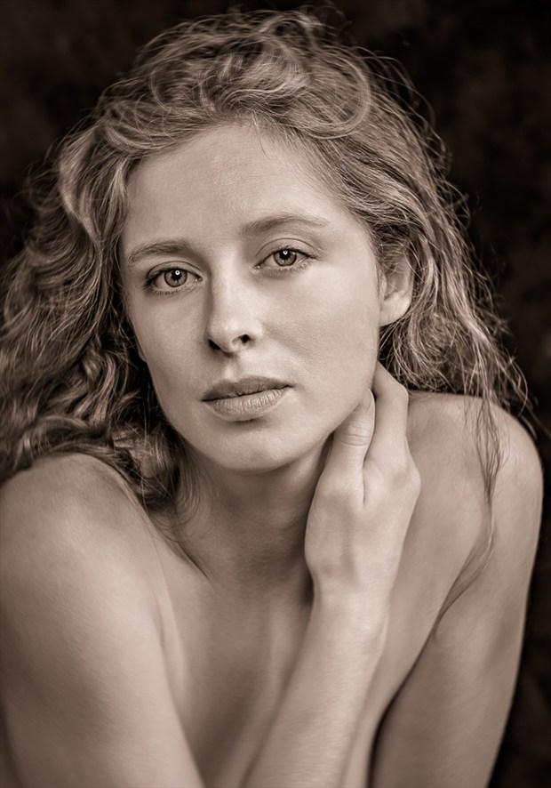 Hayley Portrait Photo by Photographer Gary Samson