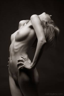 Head Back Artistic Nude Photo by Photographer Mick Waghorne