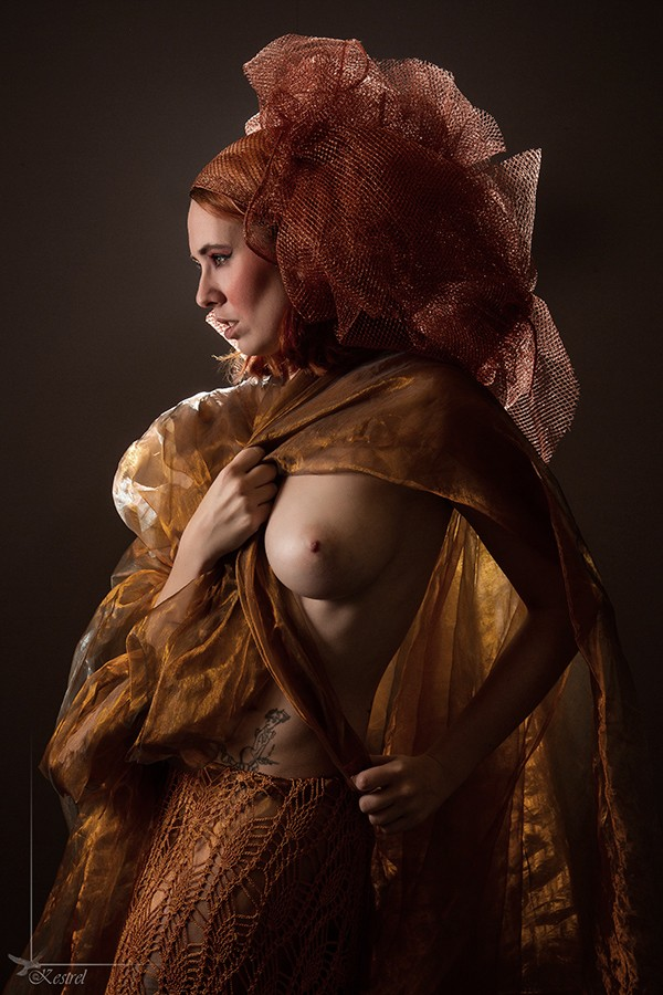 Head Dress Alternative Model Photo by Photographer Kestrel