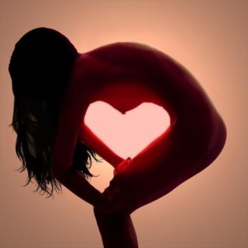 Heart Artistic Nude Photo by Photographer Cactusprick