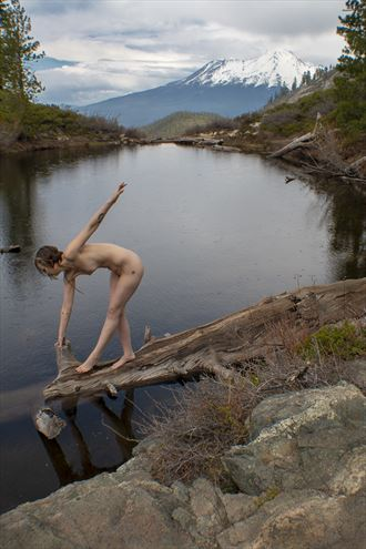 Heart Lake Artistic Nude Photo by Model Ember No%C3%ABlle