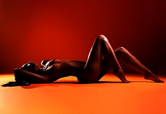 Heat Artistic Nude Photo by Model Aly Jhene
