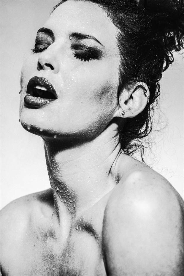 Heather Joi %2365 Expressive Portrait Photo by Photographer Gregory Garecki