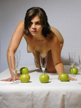 Helen and table setting Surreal Photo by Photographer LK Withers