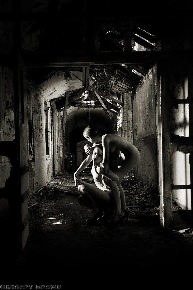 Help at hand Artistic Nude Photo by Photographer Gregory Brown