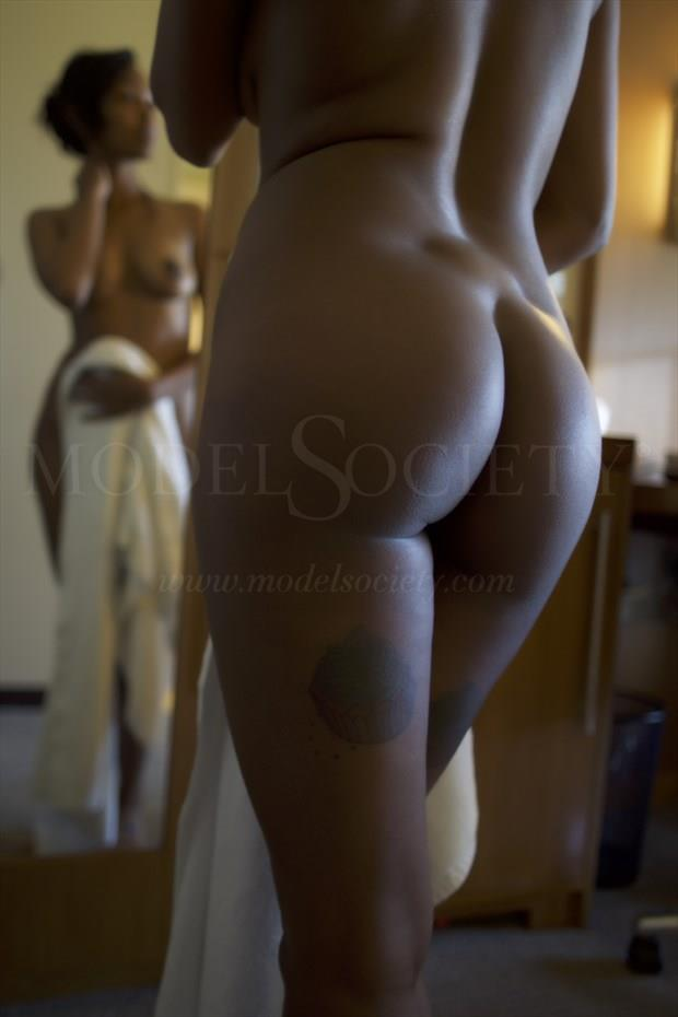 Her Reflection Artistic Nude Photo by Photographer CSDewitt Buck