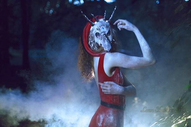 Her True Face Fantasy Artwork by Photographer Laura Sheridan's Art