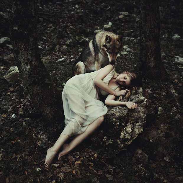 Hereafter Nature Photo by Model Alessandra