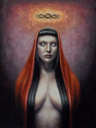 Hexe Fantasy Artwork by Artist Divine Mania