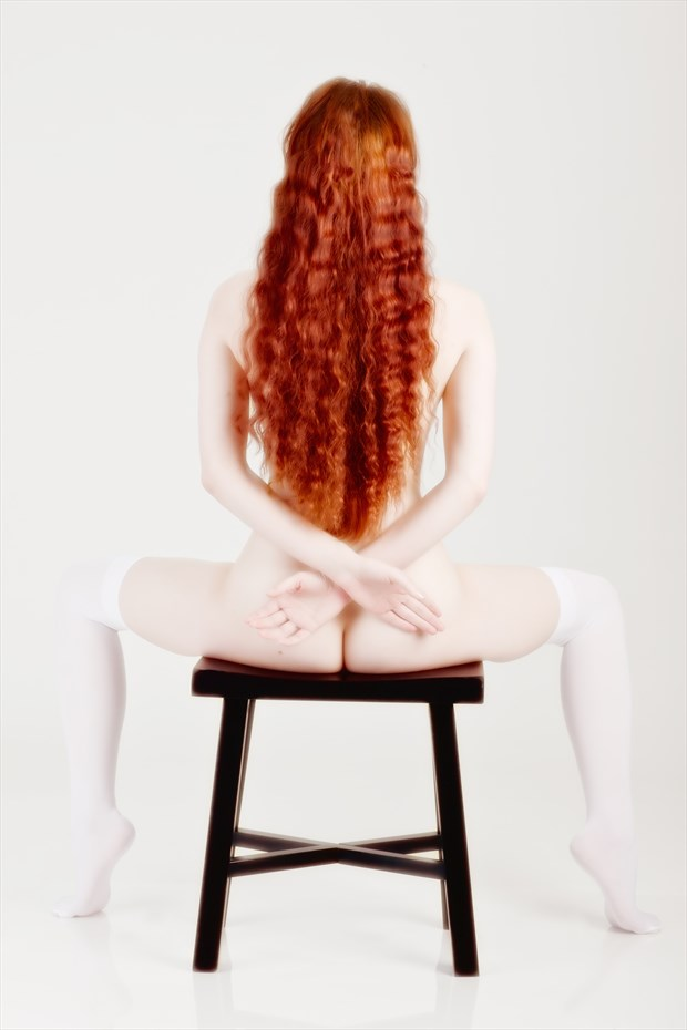 Hi key Hair Artistic Nude Photo by Model Ciryadien
