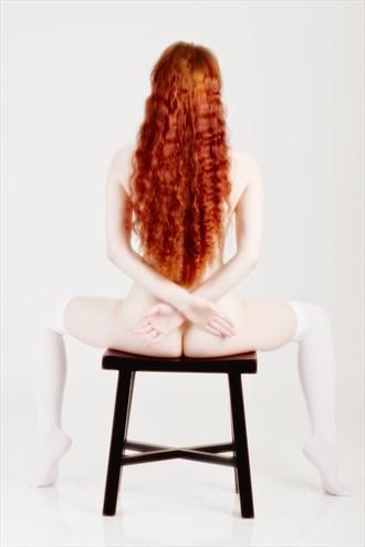 Hi key Hair Artistic Nude Photo by Model Ciryadien