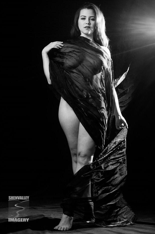 Hidden Artistic Nude Photo by Model Charlotte Dell'Acqua