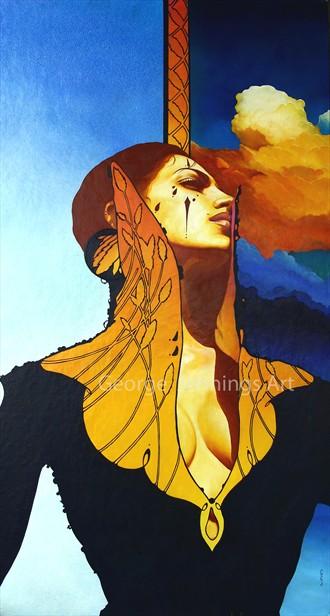 High Collar Fantasy Artwork by Artist jart64