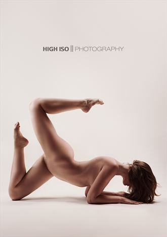 High ISO Photography Artistic Nude Photo by Model Sienna Hayes