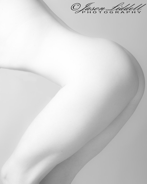 High Key Part Body Artistic Nude Photo by Photographer Liddell's Fine Art Nudes
