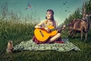 Hippie Garden Fantasy Artwork by Photographer Paolo Montalbano