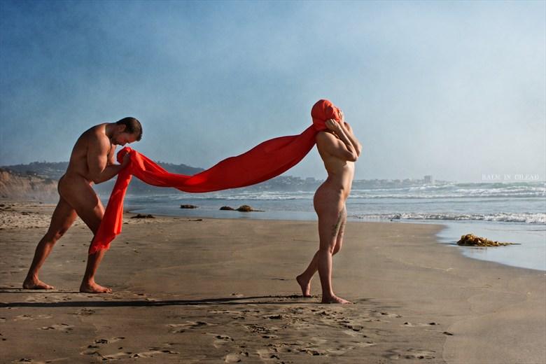 Holding me back Artistic Nude Photo by Model Amanda Morales
