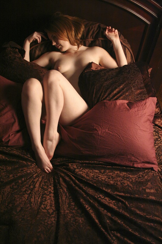 Holly Loveday Artistic Nude Photo by Artist David Bollt