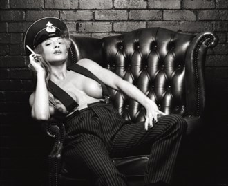 Homage to %22The Night Porter%22 Erotic Photo by Photographer Symesey