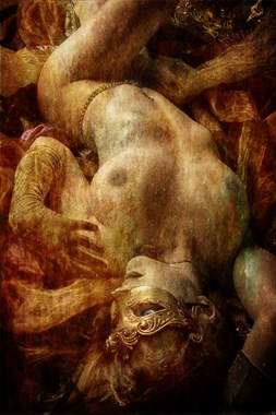 Homage to Dante Rosetti Artistic Nude Photo by Photographer Mykel