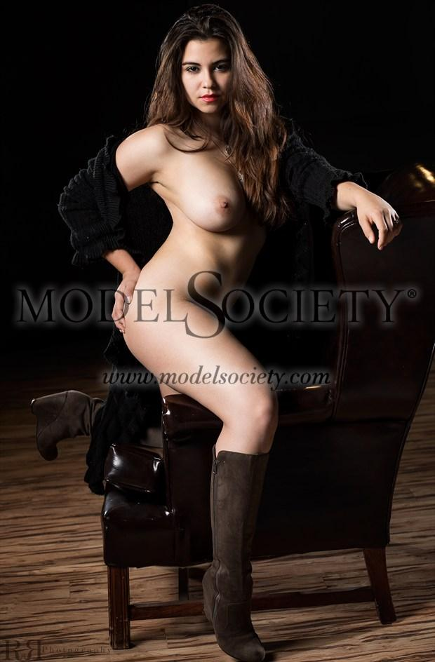 Honey I've Been Waiting Artistic Nude Photo by Model Charlotte Dell'Acqua
