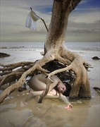 Hoping the Tide Will Turn Artistic Nude Photo by Photographer Douglas Ross