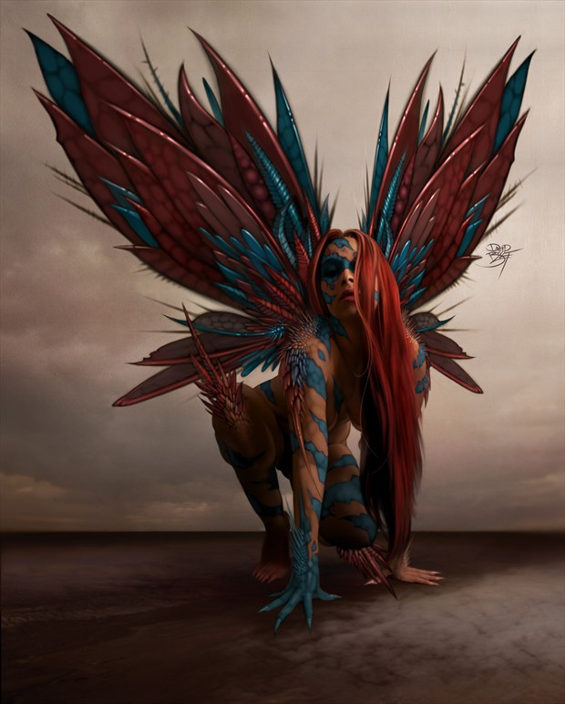 Hornet Surreal Artwork by Artist David Bollt