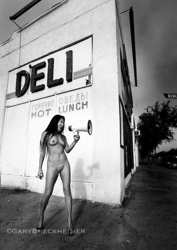 Hot Lunch Artistic Nude Artwork by Model Ree Ja