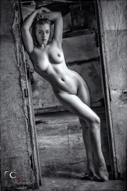 Hour Glass Artistic Nude Artwork by Model Rosa Brighid