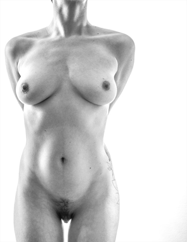 Hourglass Artistic Nude Artwork by Model Vera May
