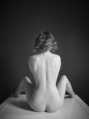 Hourglass Artistic Nude Photo by Model Aurora Violet
