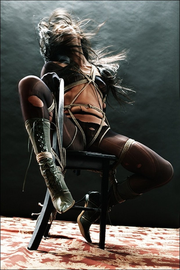 How to Sit Erotic Artwork by Model Ree Ja