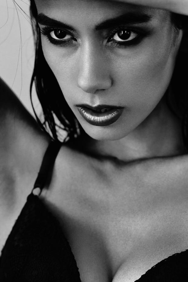 Hunger Lingerie Photo by Model Jennifer M.