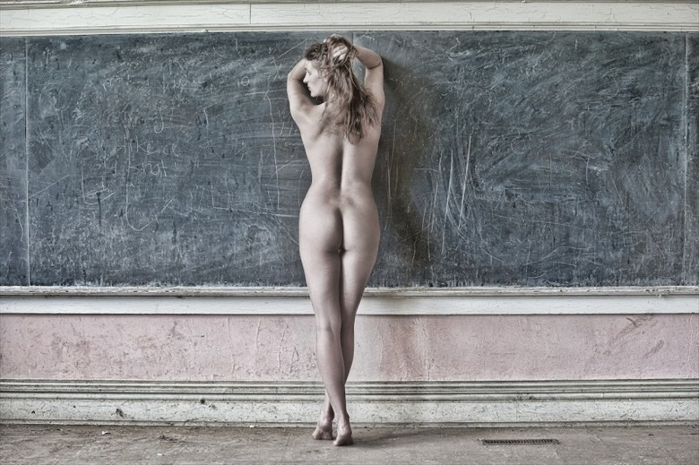I'd like school better if I could go naked Figure Study Photo by Model Mila