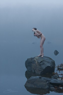 I'm Not Your Stepping Stone Artistic Nude Photo by Artist Kevin Stiles