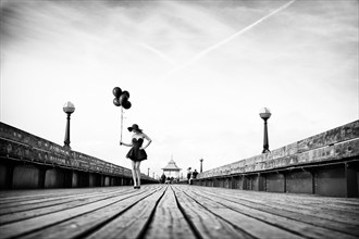 I'm a balloon, one little thing can make me explode. Fashion Photo by Photographer Blofeld