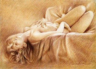 I MISS YOU Artistic Nude Artwork by Artist Girotto Walter