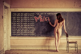 I hate making promises I can't keep... Artistic Nude Photo by Model Mila