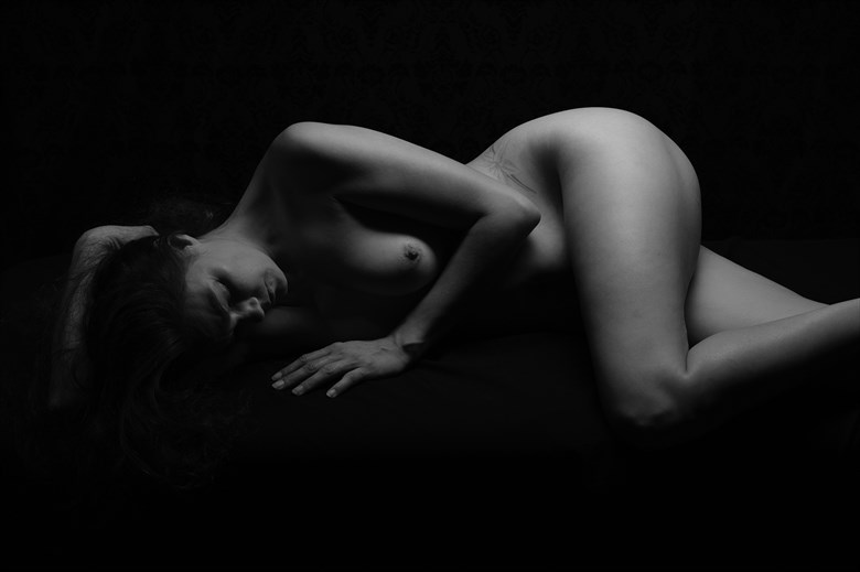 I lay in silence  Artistic Nude Photo by Photographer TheBody.Photography