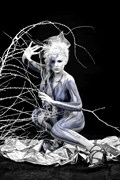 ICE QUEEN III Fantasy Artwork by Artist Bodypaint D%C3%BCsterwald