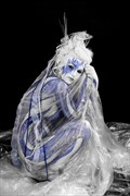 ICE QUEEN VI Fantasy Artwork by Artist Bodypaint D%C3%BCsterwald