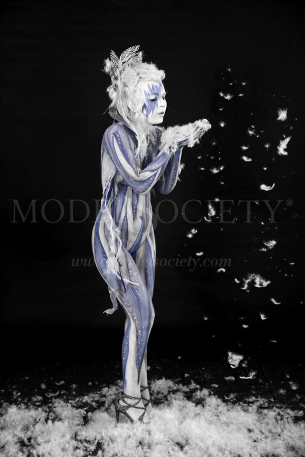 ICE QUEEN X Fantasy Artwork by Artist Bodypaint D%C3%BCsterwald