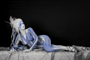 ICE QUEEN XIV Fantasy Artwork by Artist Bodypaint D%C3%BCsterwald
