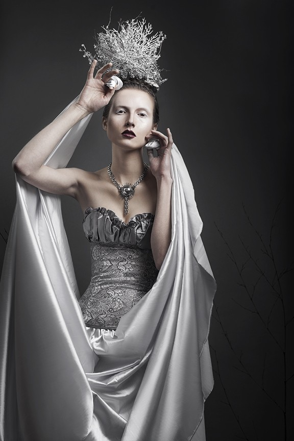 Ice Queen 2 Fashion Photo by Photographer Jennifer