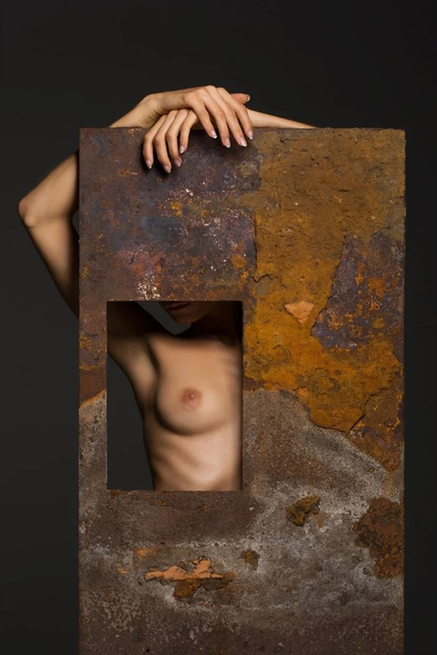 Ilvy in Textures Artistic Nude Photo by Photographer BenErnst