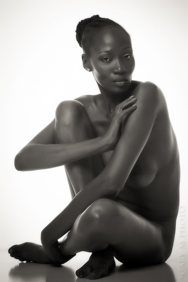 Implied Nude Artwork by Model Crimson Reign