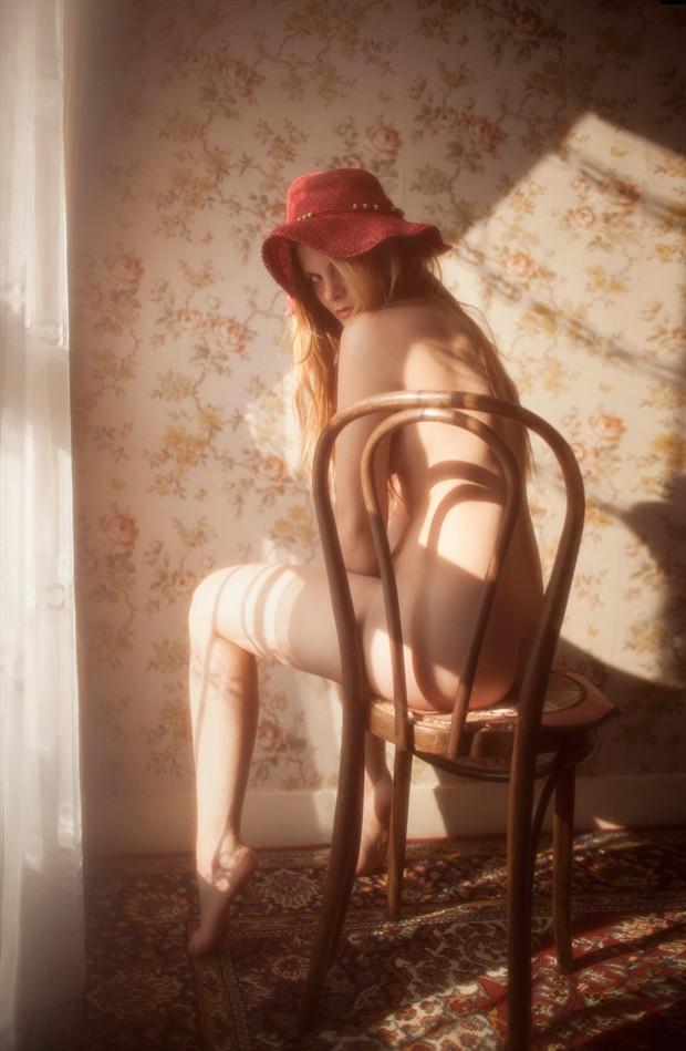Implied Nude Artwork by Model valentina feula