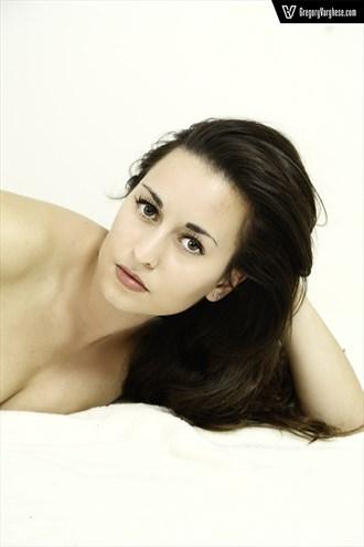 Implied Nude Expressive Portrait Photo by Model Amanda M Esteves