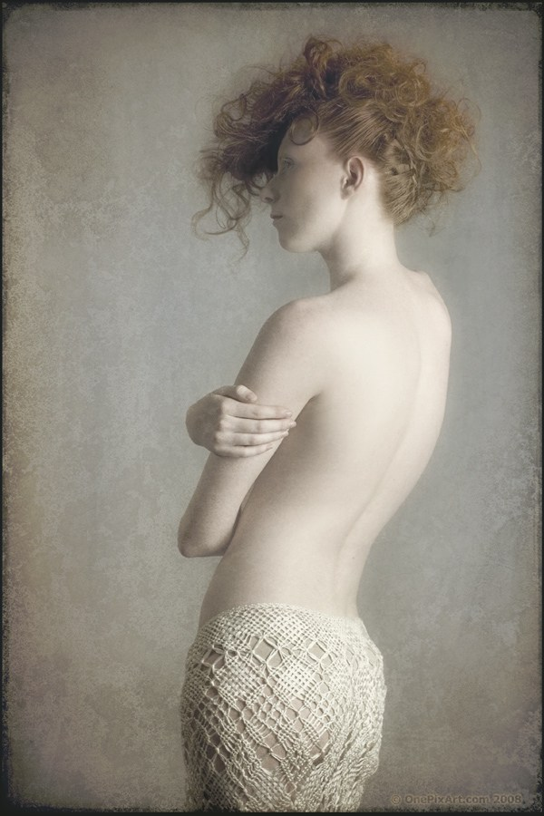 Implied Nude Fashion Artwork by Photographer OnePixArt